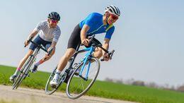 Fahrbilder Rennrad mit Felgenbremsen