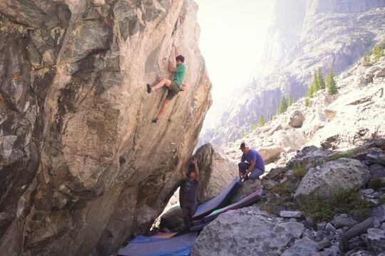 Jimmy Webb Erstbegehung, Bouldern USA