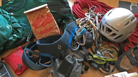 Kletter-Equipment