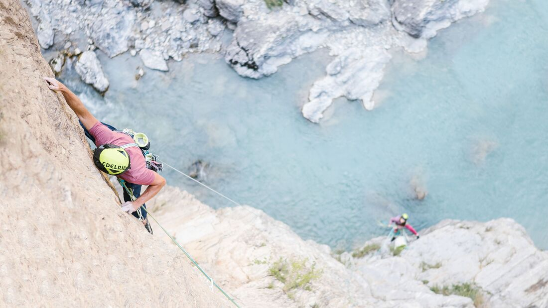 Klettergear Edelrid im Einsatz