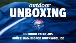 Unboxing: Grüezi Bag Biopod Downwool Ice